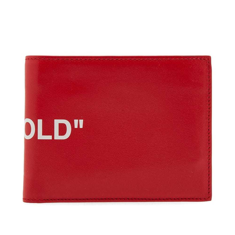 Photo: Off-White Quote Billfold Wallet