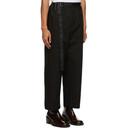 Sacai Black Twill Trousers