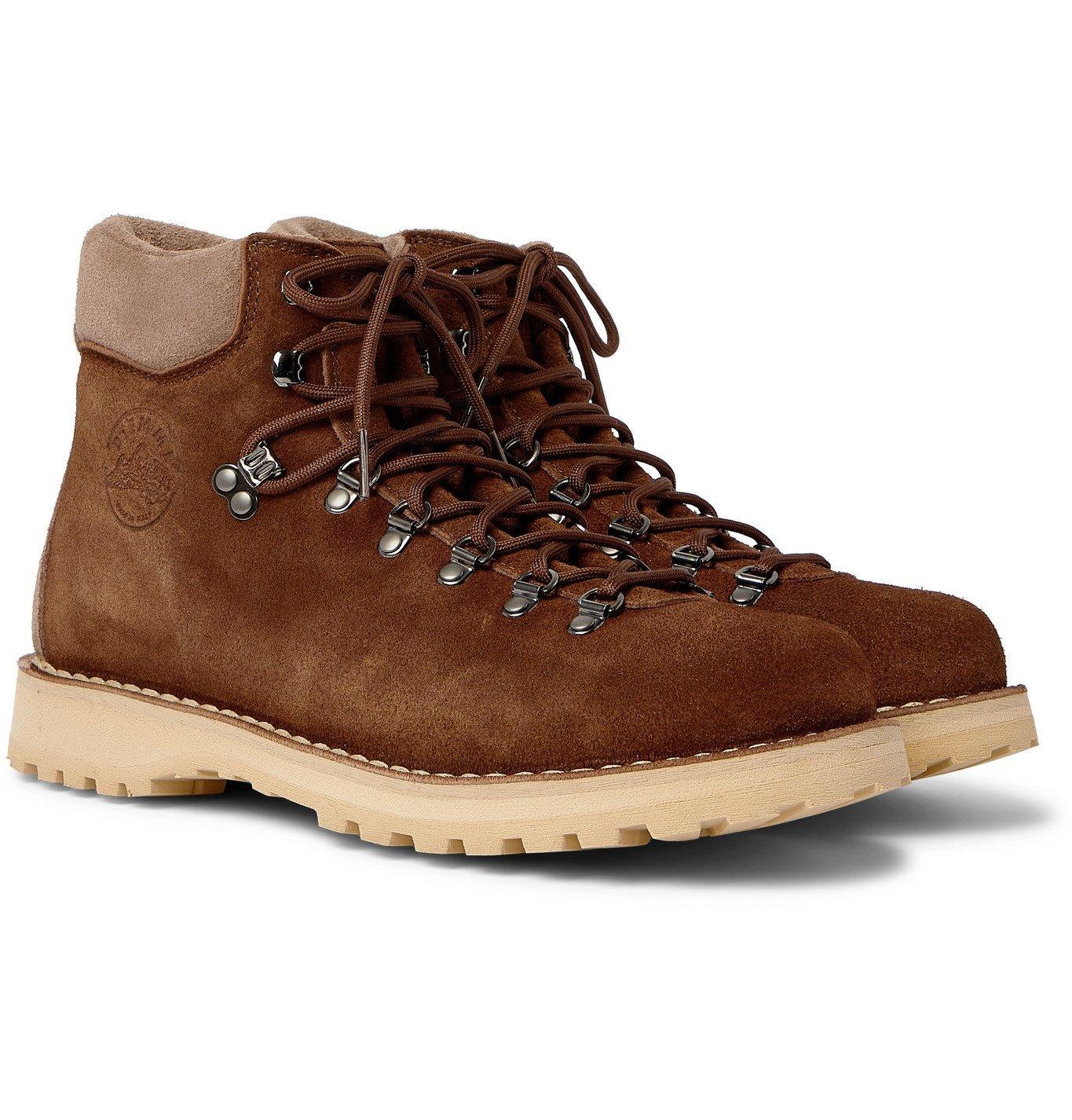 Photo: DIEMME - Roccia Vet Suede Hiking Boots - Brown