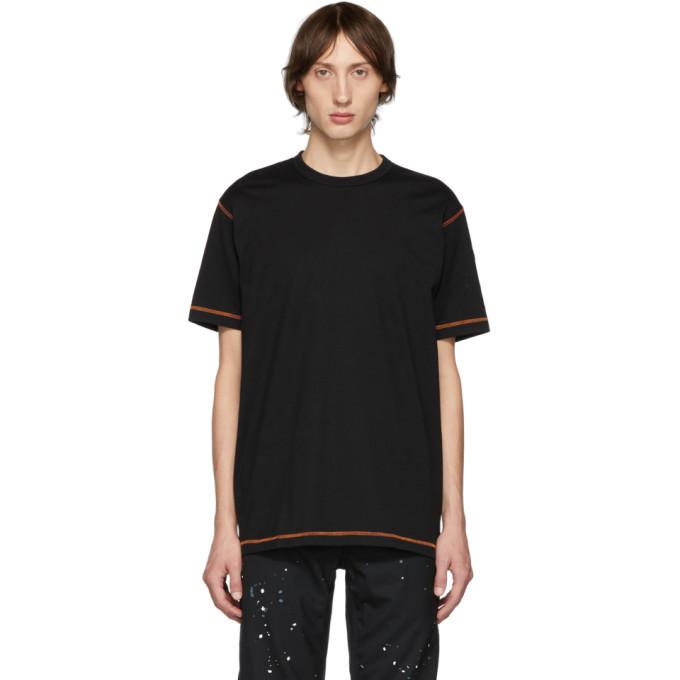 Photo: Comme des Garcons Homme Black Seamed T-Shirt