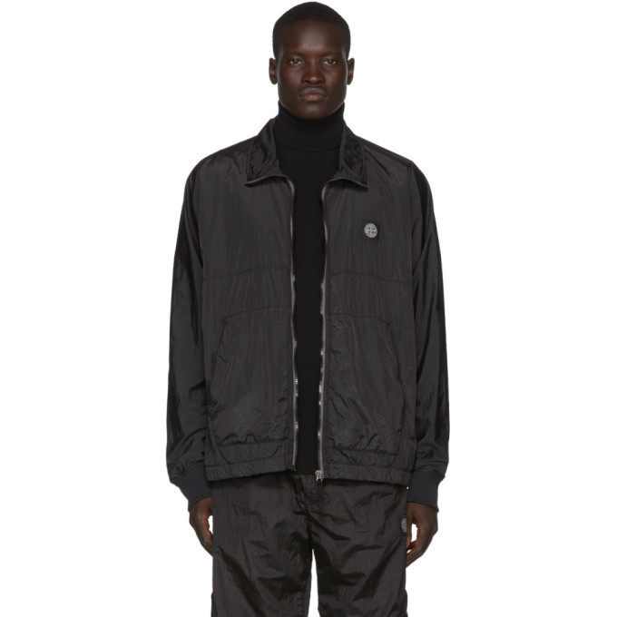 Photo: Stone Island Black Nylon Metal Over Shirt Jacket