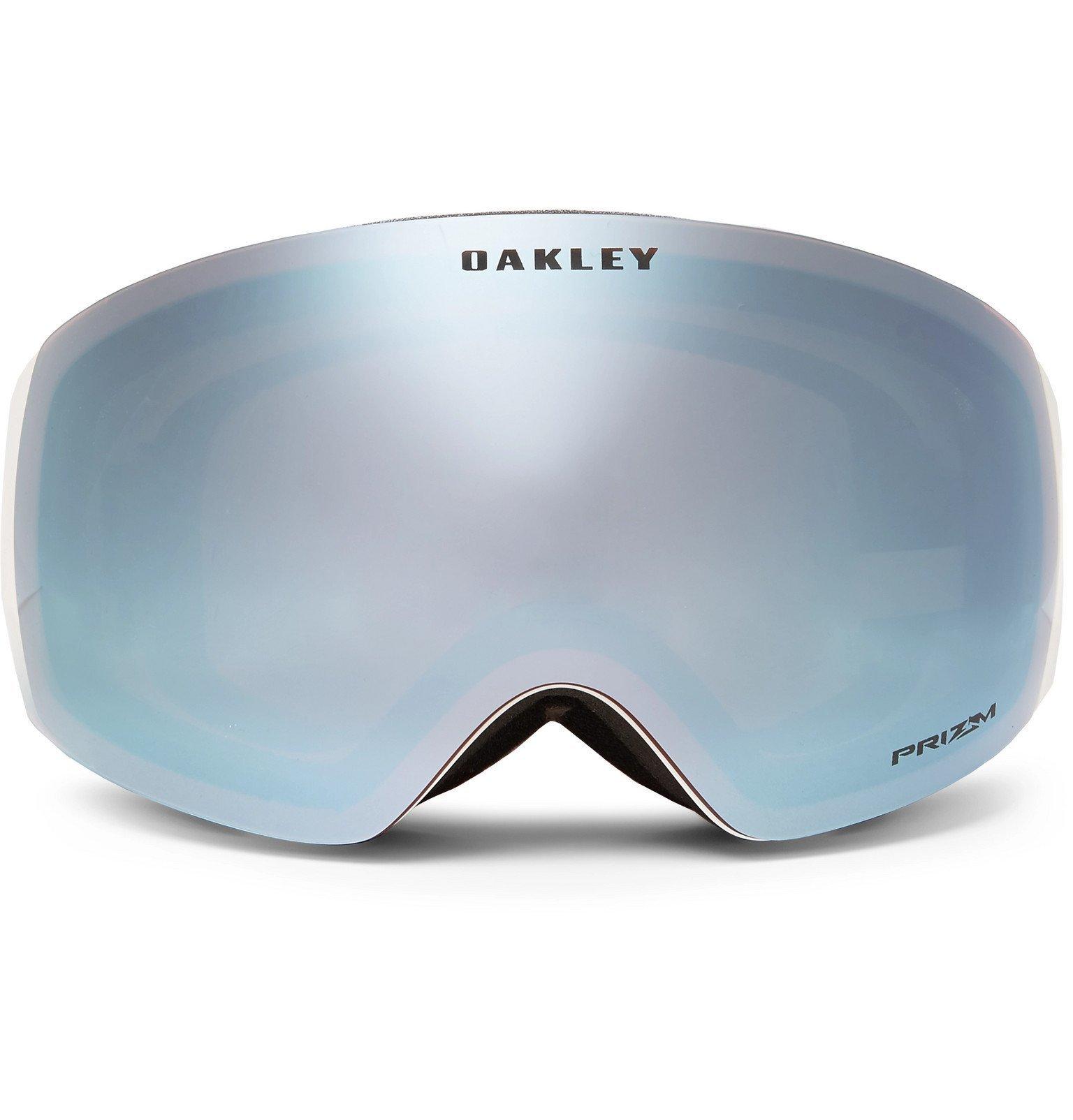 Photo: Oakley - Flight Deck XM Rimless Prizm Ski Goggles - White