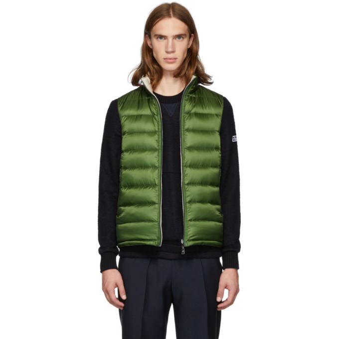 Photo: Herno Reversible Green Down Vest