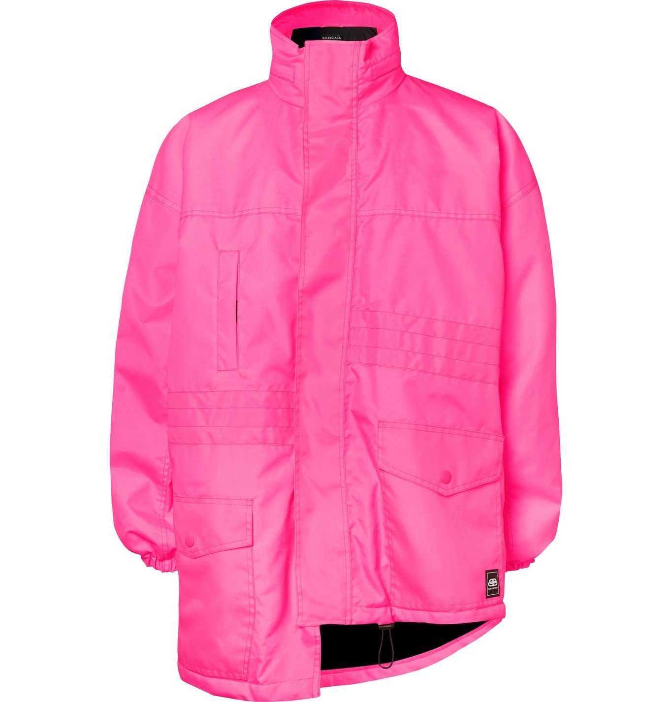 Photo: Balenciaga - Oversized Padded Shell Parka - Pink