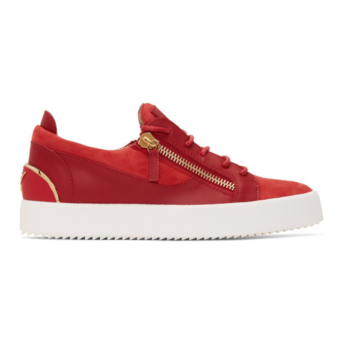 Photo: Giuseppe Zanotti Red Signature Frankie Sneakers
