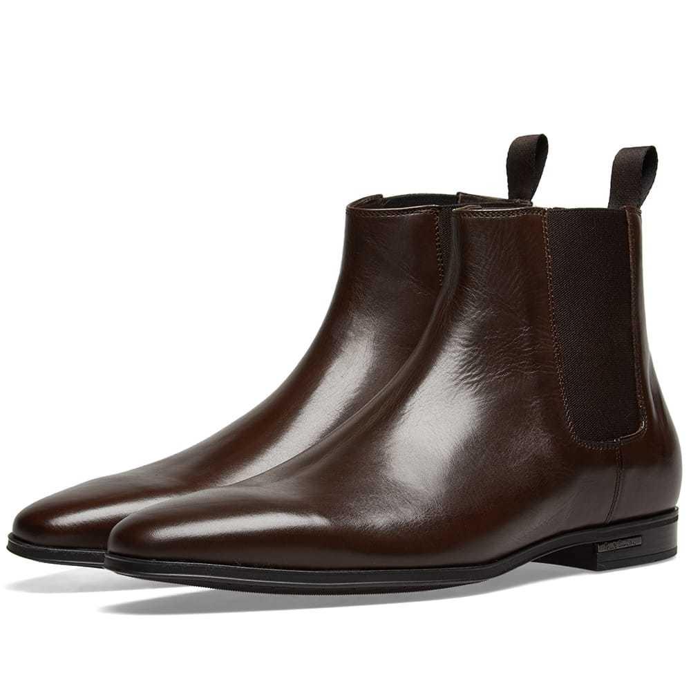 Photo: Paul Smith Hamilton Chelsea Boot Brown Leather