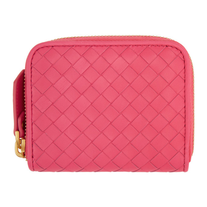 Photo: Bottega Veneta Pink Mini Coin Purse