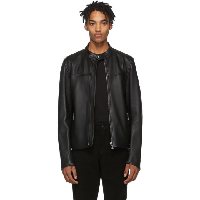 Photo: Belstaff Black Pelham Jacket
