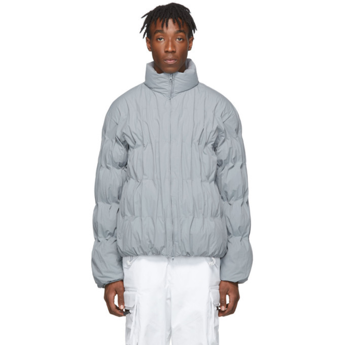 Photo: Post Archive Faction PAF Blue Down 2.0 Right Jacket