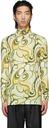 Raf Simons Yellow & Green All Over Printed Turtleneck