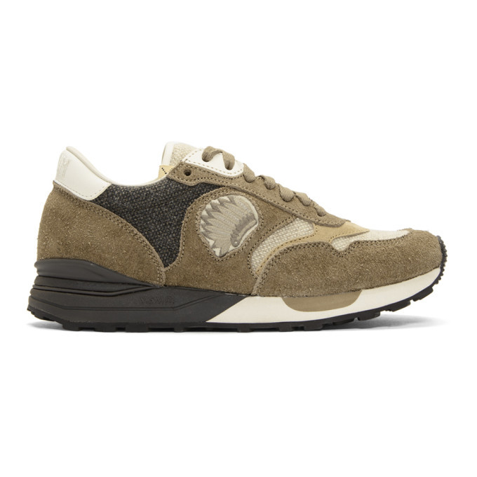 Photo: Visvim Brown Roland Jogger Sneakers