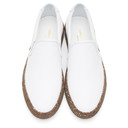 Common Projects White Confetti Slip-On Sneakers