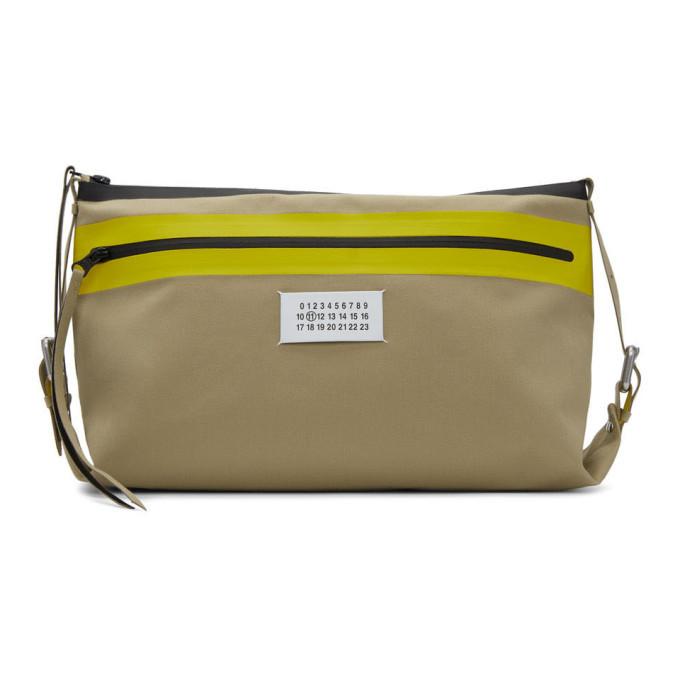 Photo: Maison Margiela Beige Canvas Crossbody Bag