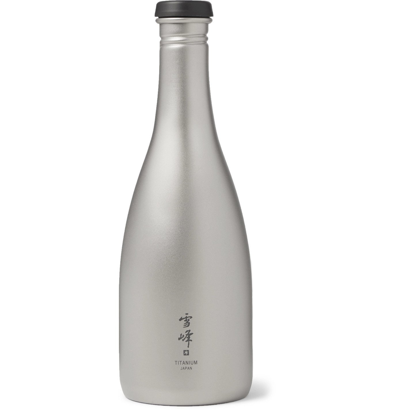 Photo: Snow Peak - Titanium Saké Bottle, 540ml - Silver