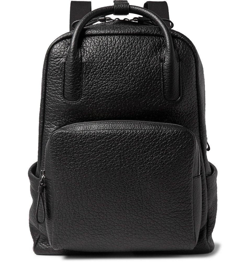 Photo: Tod's - Full-Grain Leather Backpack - Black