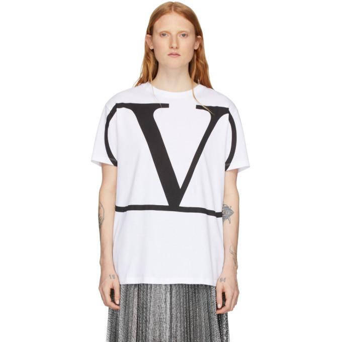 Photo: Valentino White VLogo T-Shirt