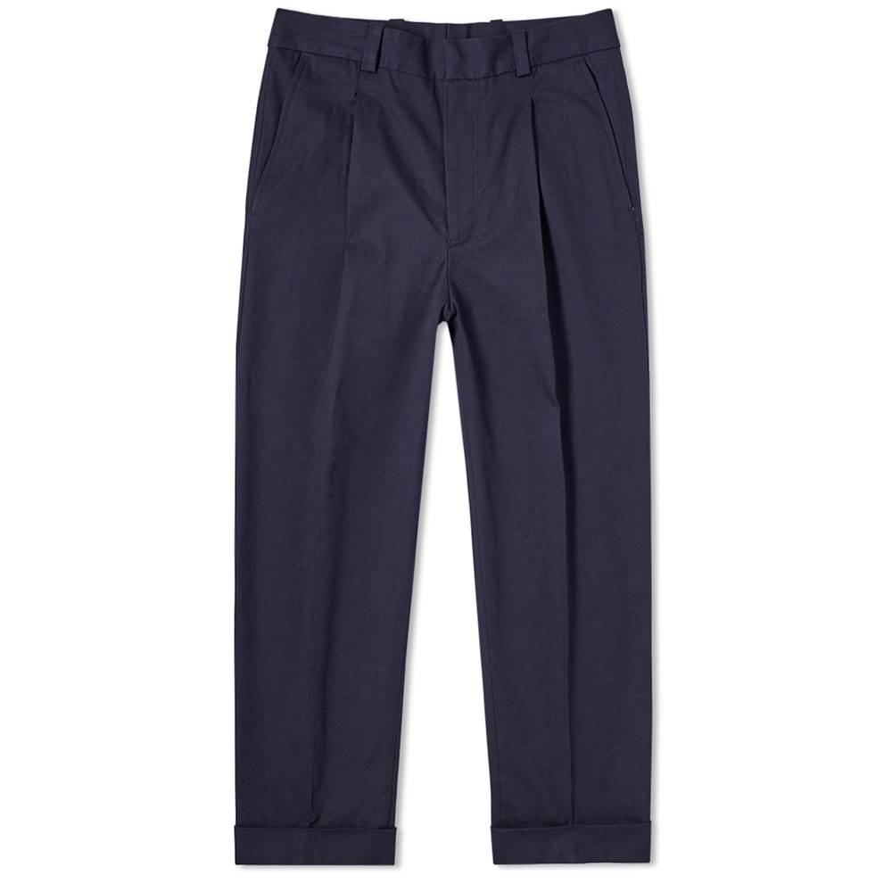 Photo: Acne Studios Pierre Structured Cropped Pant
