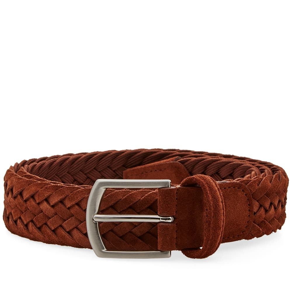 Photo: Anderson's Woven Suede Belt