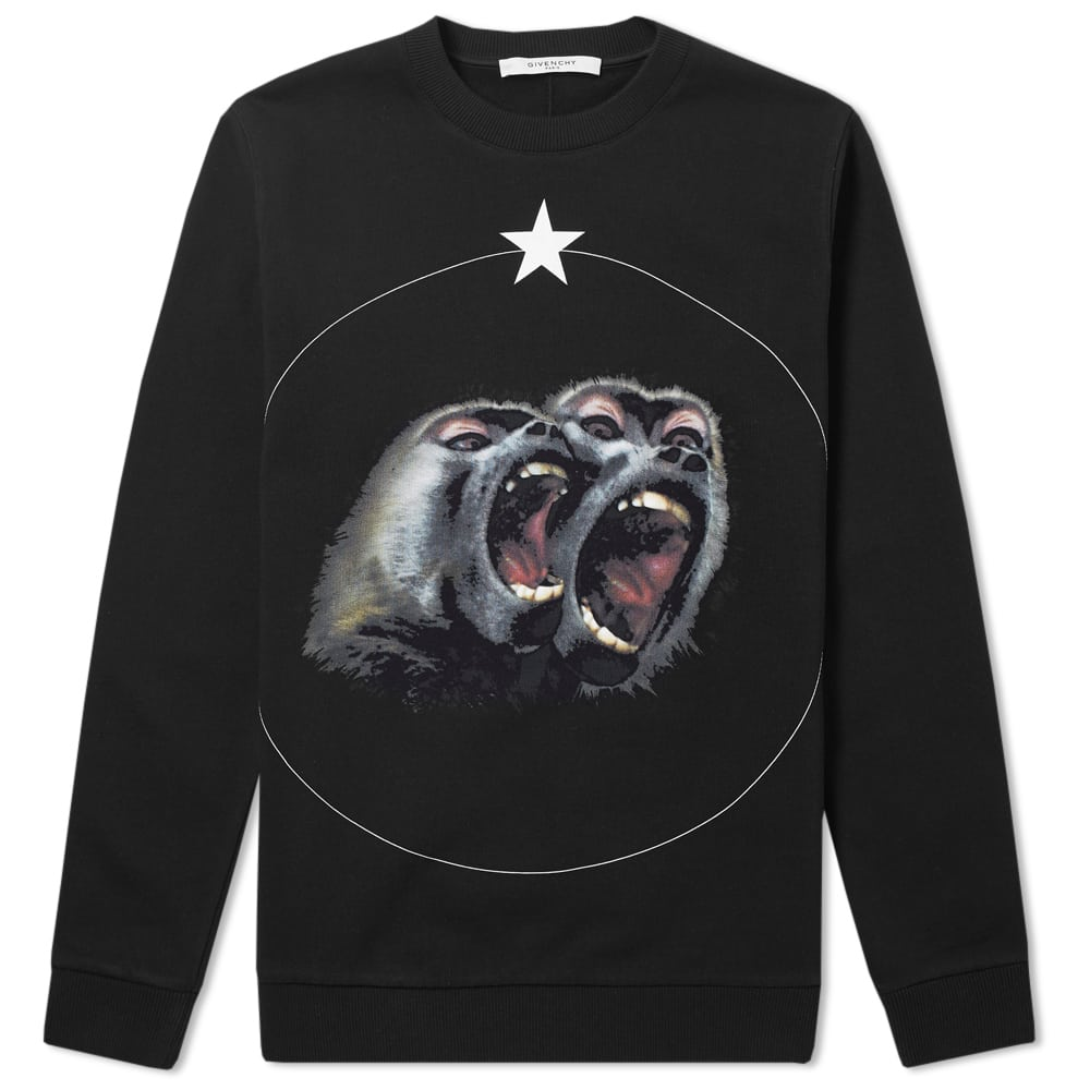Photo: Givenchy Cuban Monkey Brothers Sweat