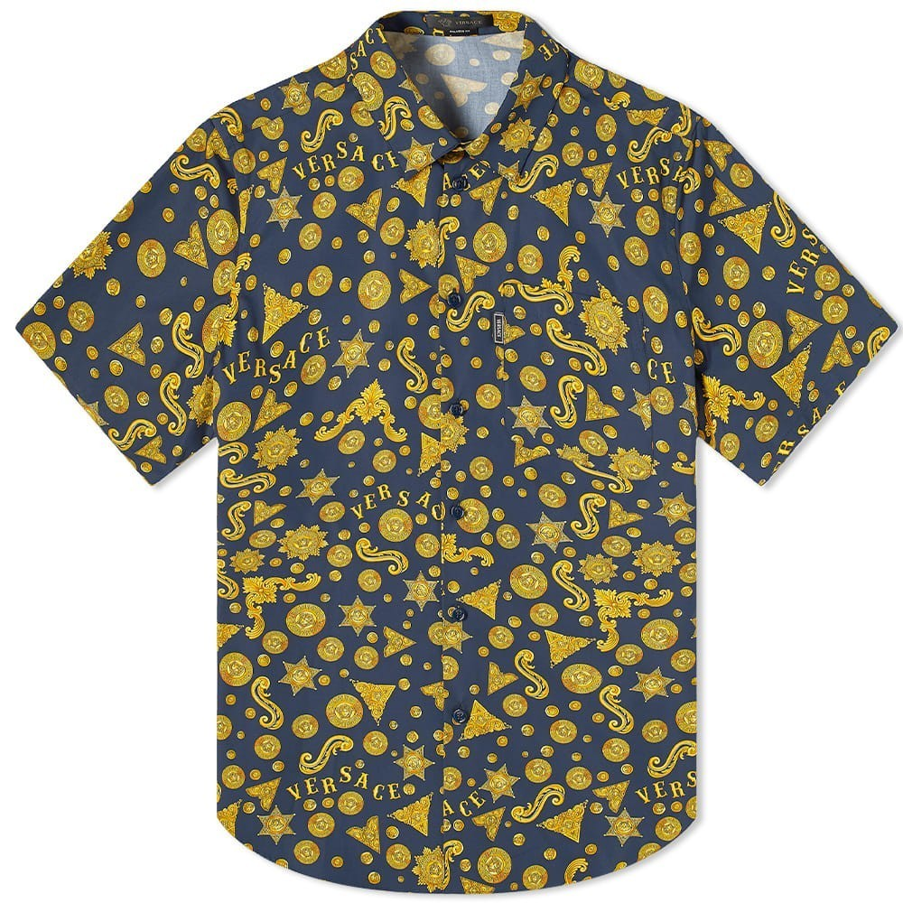 Photo: Versace Short Sleeve All Over Print Shirt