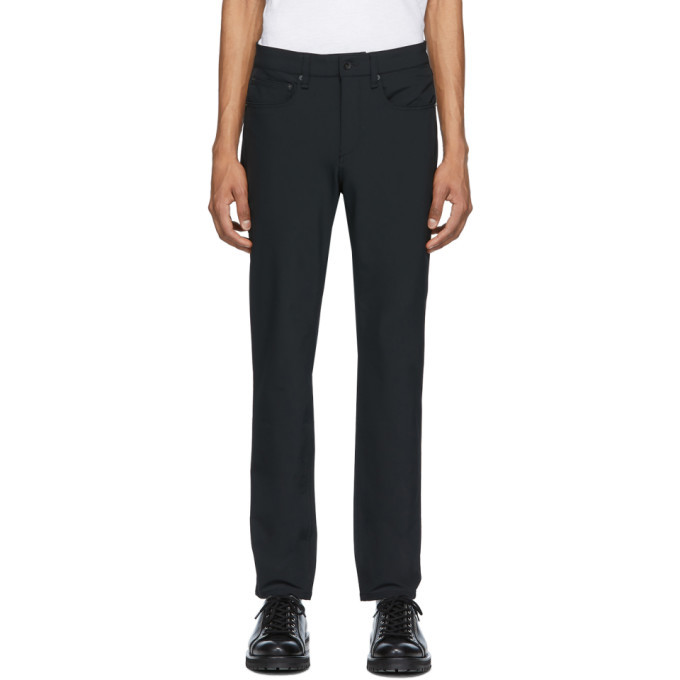 Photo: rag and bone Black Tech 5 Trousers