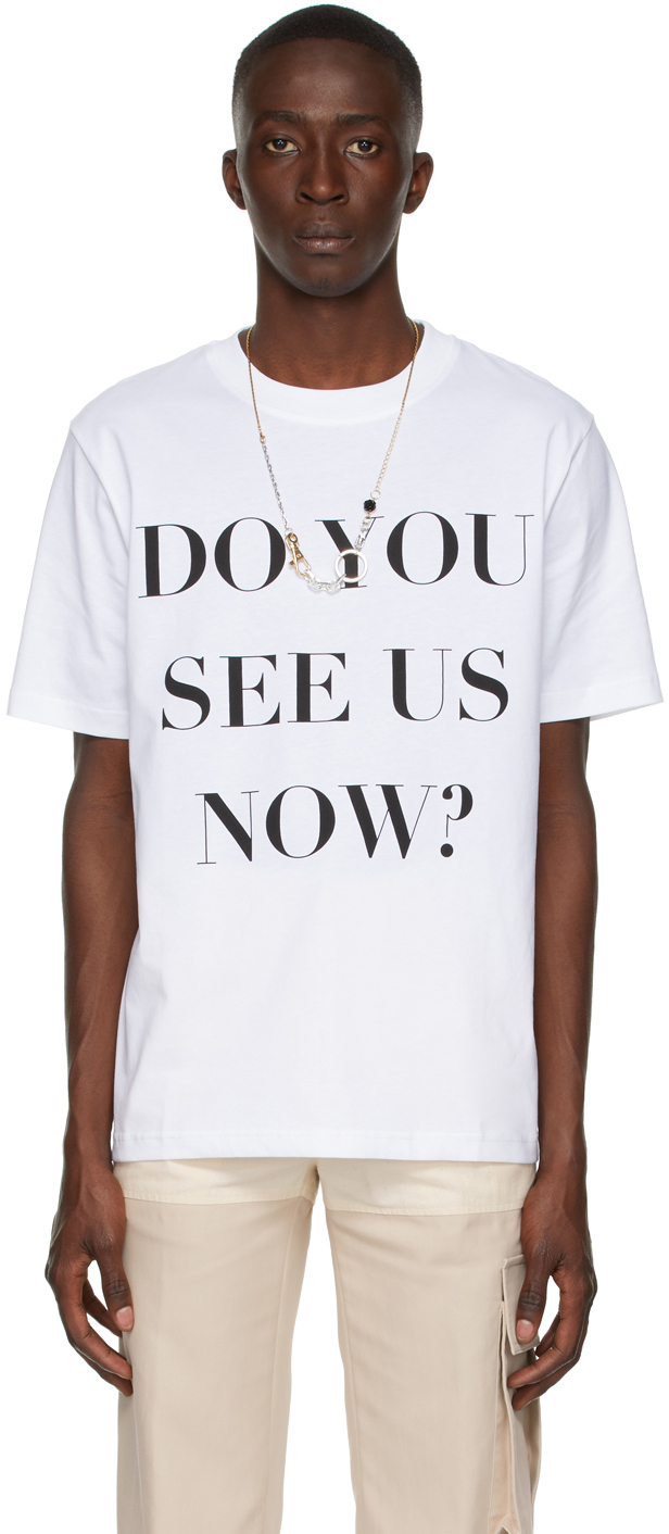 Photo: Botter White 'Do You See Us Now?' T-Shirt
