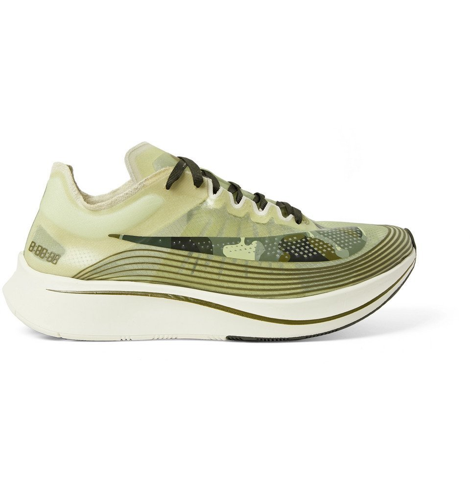 Nike Running - Zoom Fly SP Ripstop Sneakers - Men - Army green