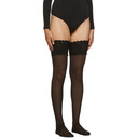 Wolford Black Satin Touch 20 Stay-Up Tights