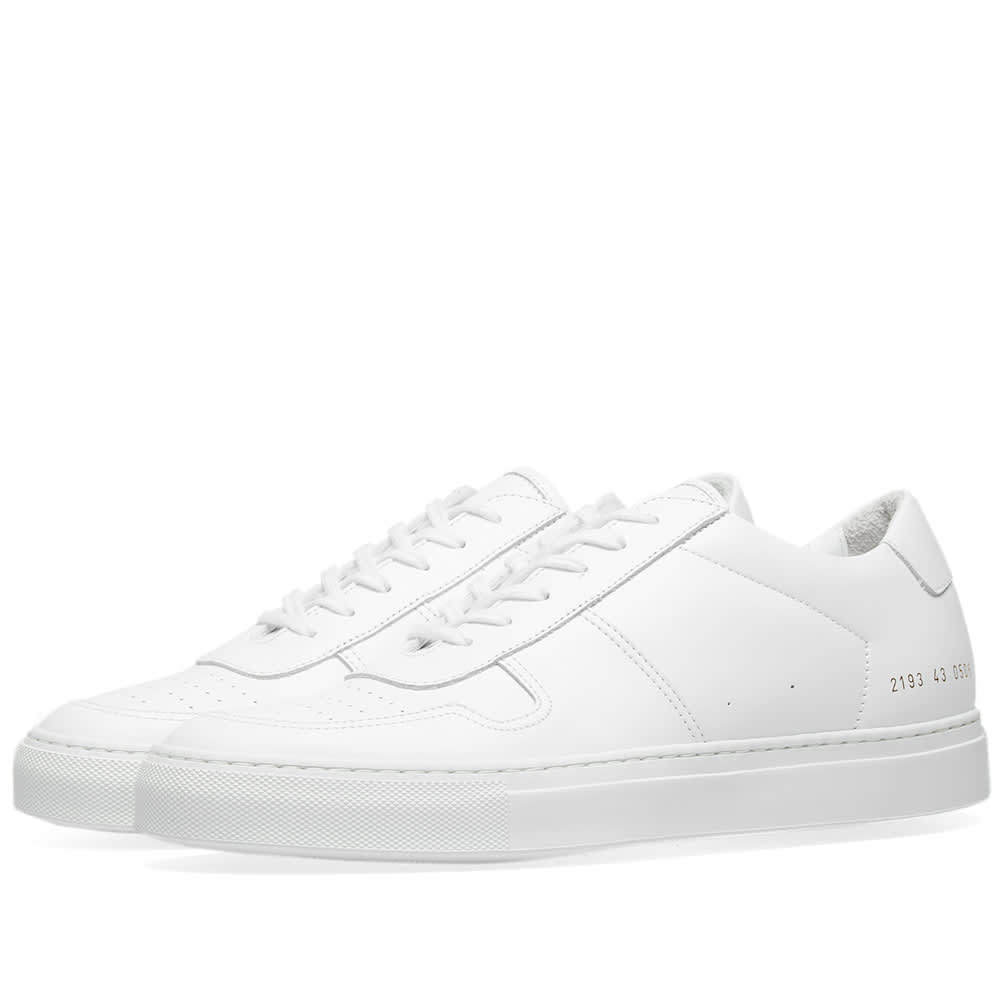 Common Projects B-Ball Low White Sole White