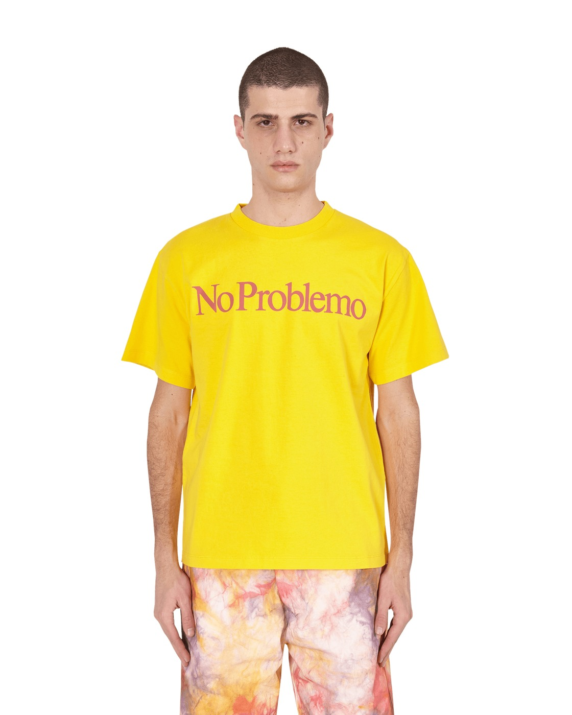Aries No Problemo T Shirt Yellow