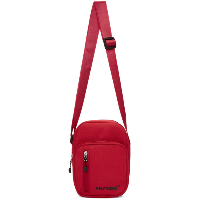 Photo: Polythene* Optics Red Shoulder Bag