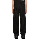 Raf Simons Black Wide Fit Trousers