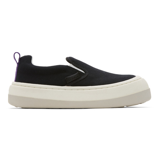 Photo: Eytys Black Canvas Venice Sneakers