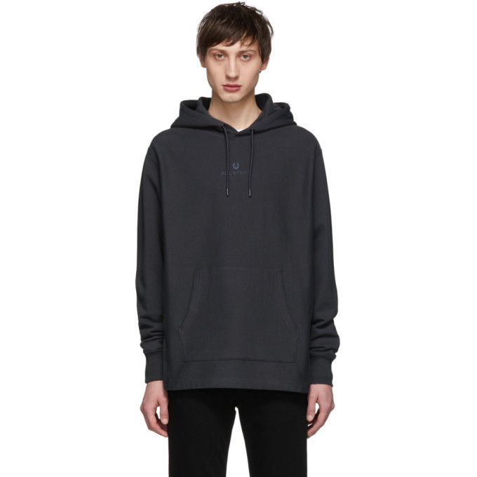 Photo: Belstaff Grey Padox Hoodie