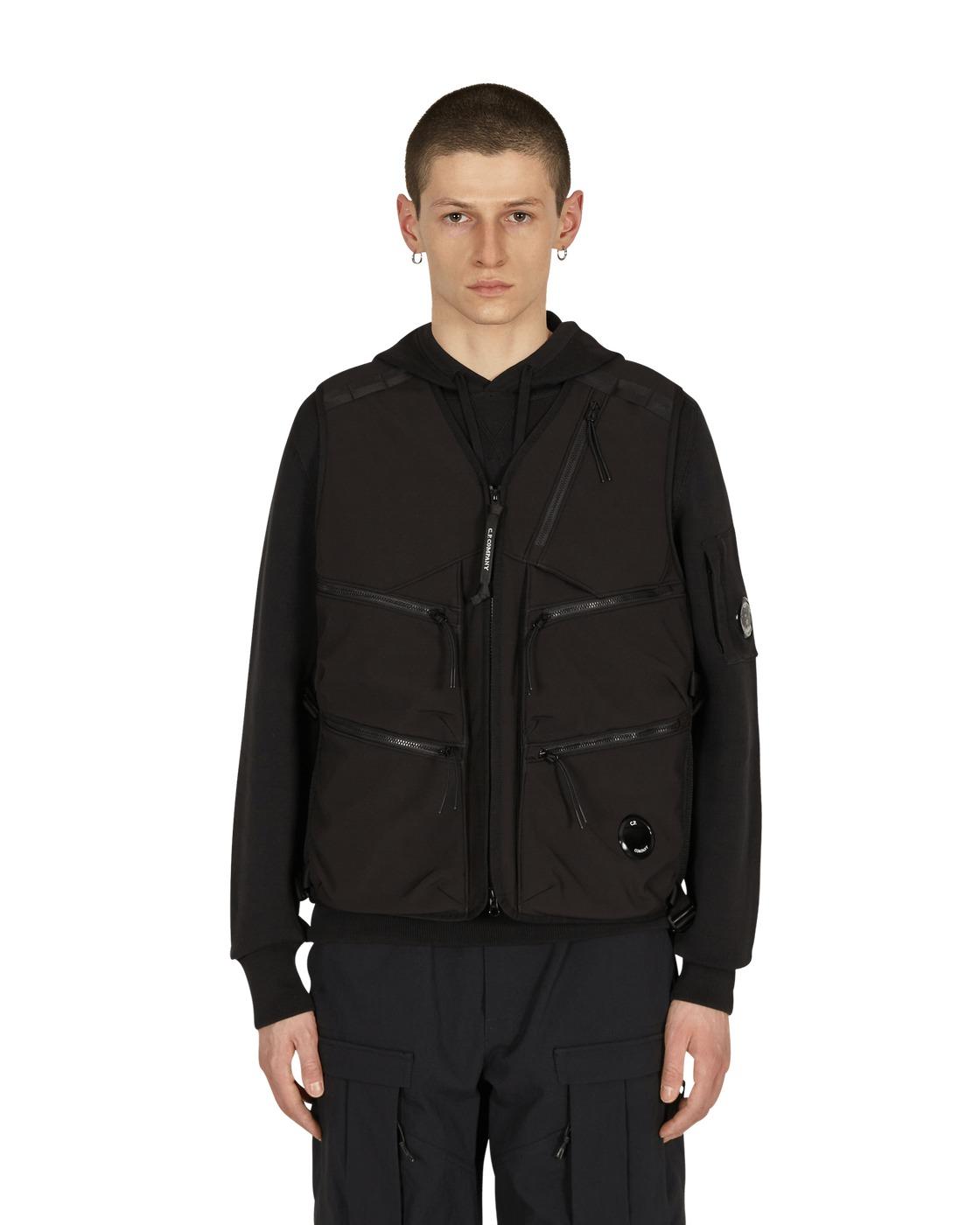 Photo: C.P. Company Utility Vest Black