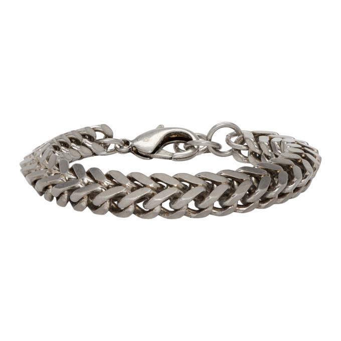 Photo: Balenciaga Silver Chain Set Bracelet