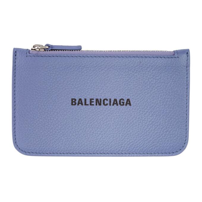 Photo: Balenciaga Purple Cash Long Card Holder
