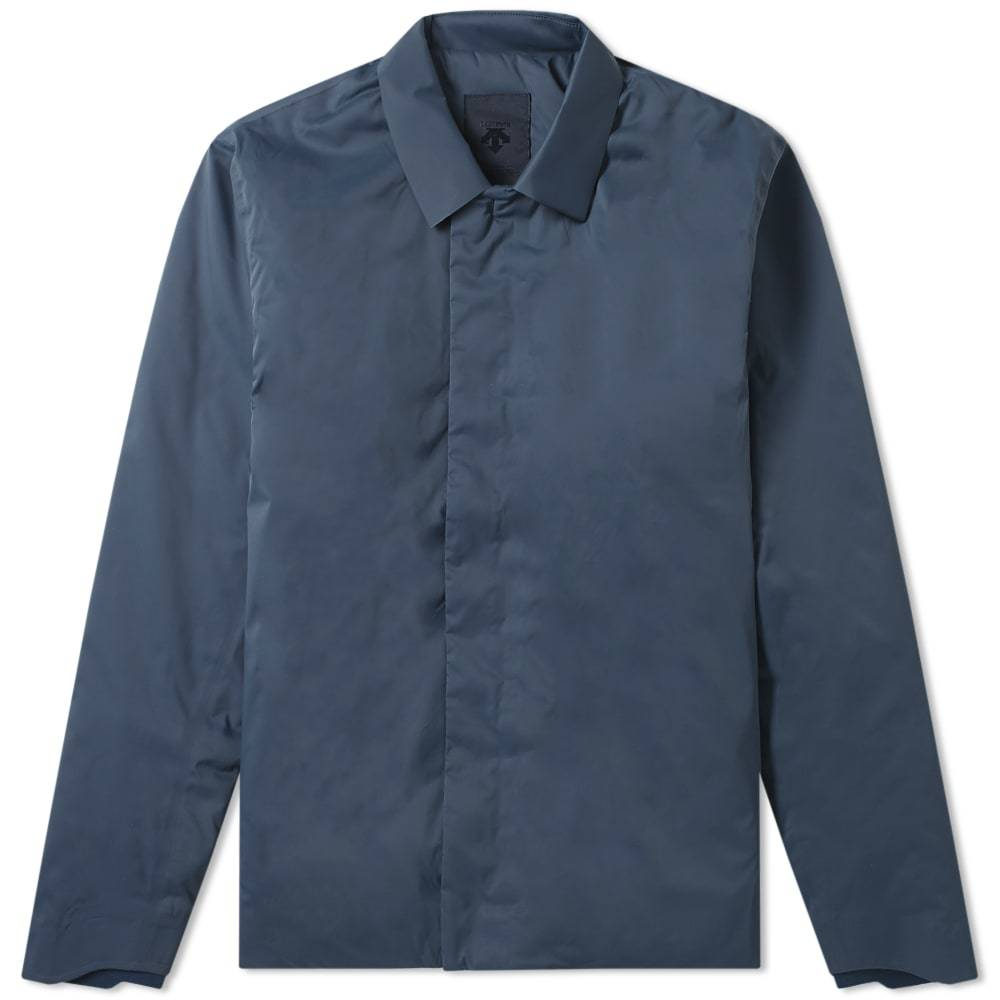 Photo: Descente Allterrain Perforated Insulation Shirt Jacket Slate Navy