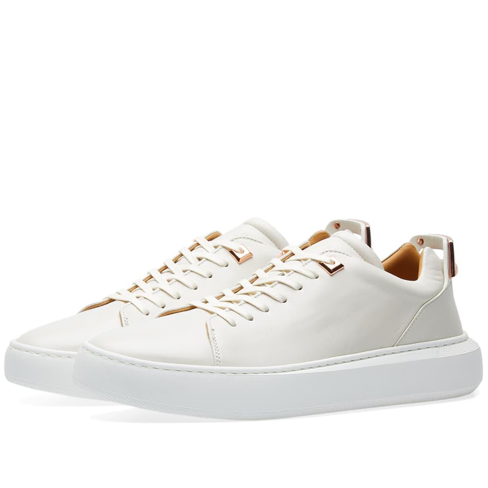 Photo: Buscemi Uno Leather Low Sneaker White