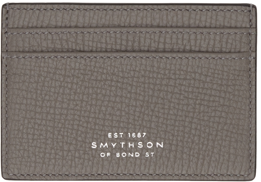Photo: Smythson Grey Ludlow Card Holder