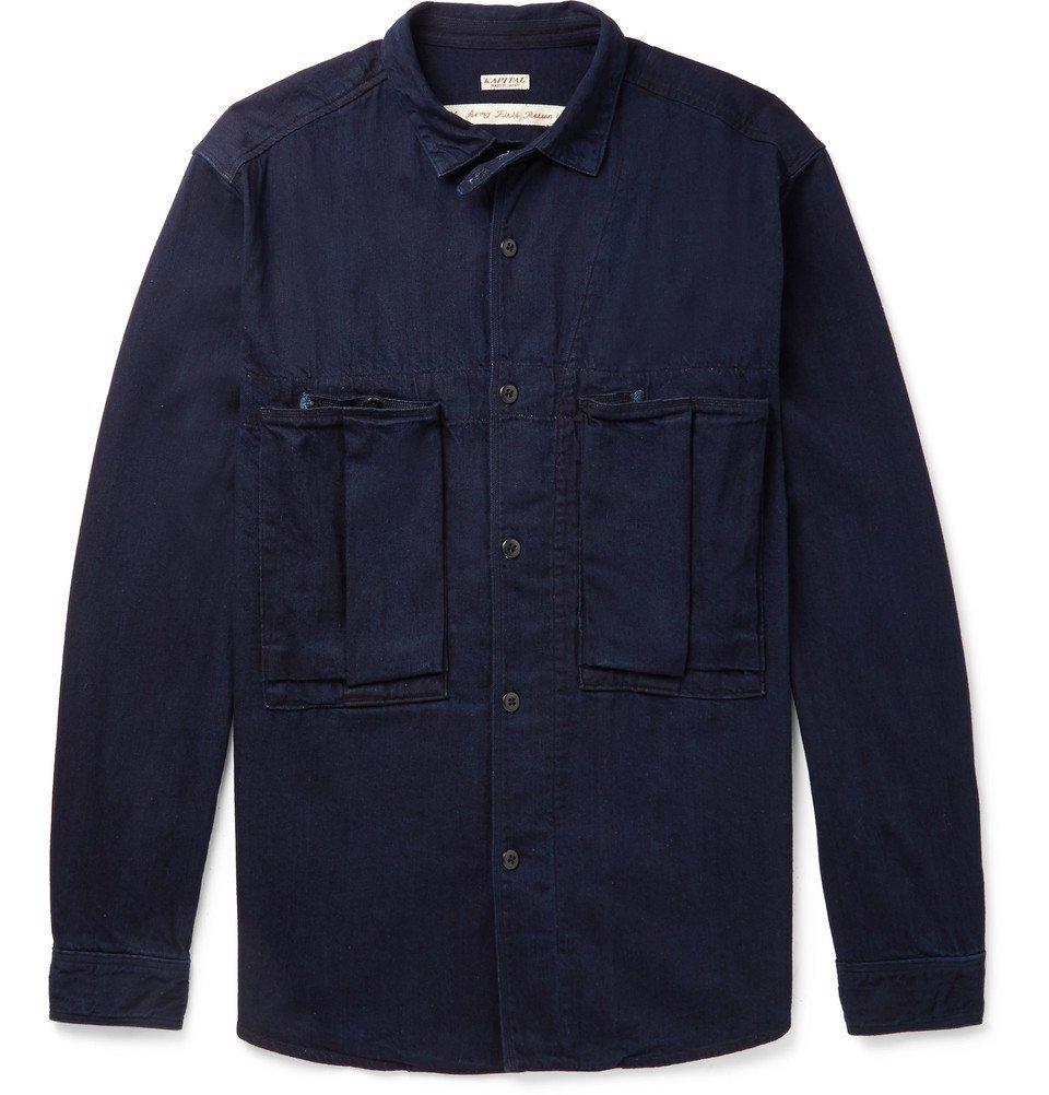 KAPITAL - Denim Shirt - Men - Blue