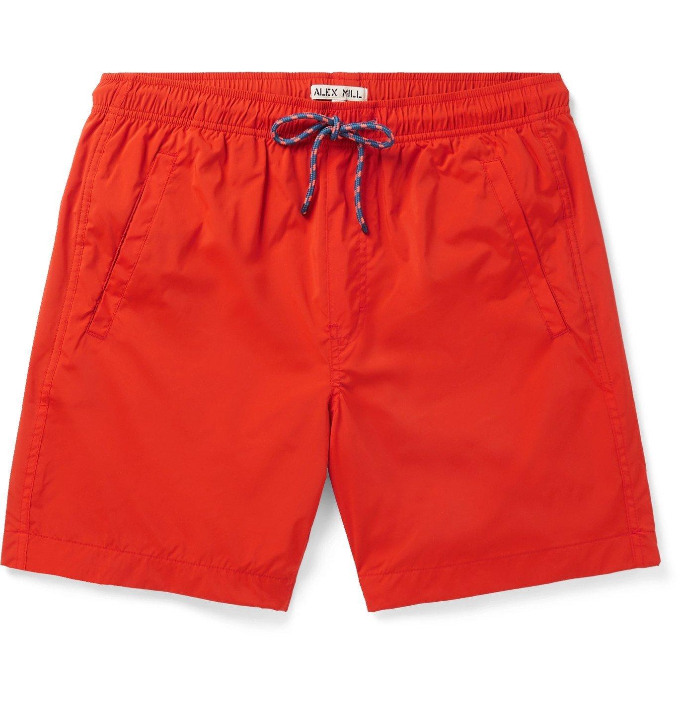 Photo: Alex Mill - Shell Drawstring Shorts - Red
