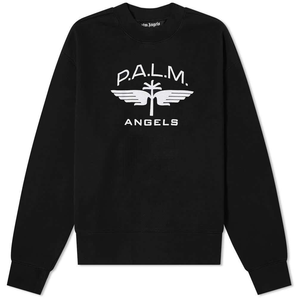 Photo: Palm Angels Military Wings Logo Crew Sweat