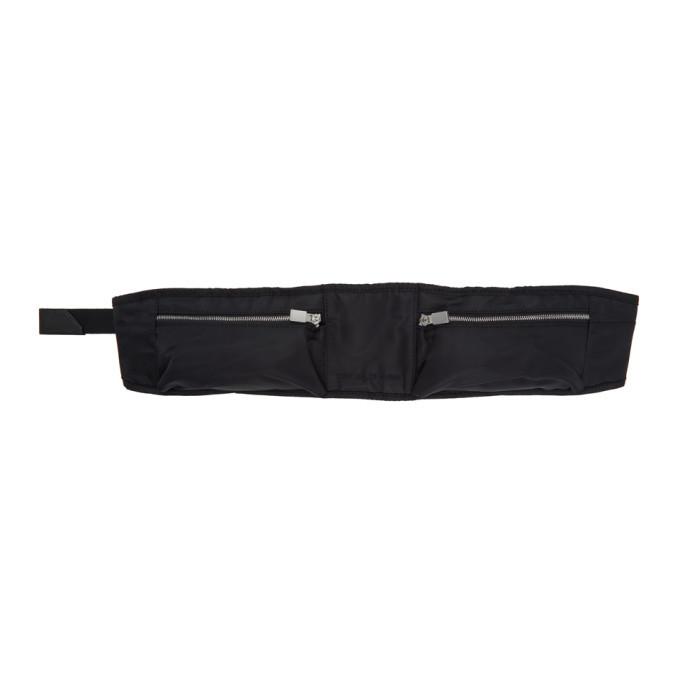1017 ALYX 9SM Black Nylon Pocket Belt Bag