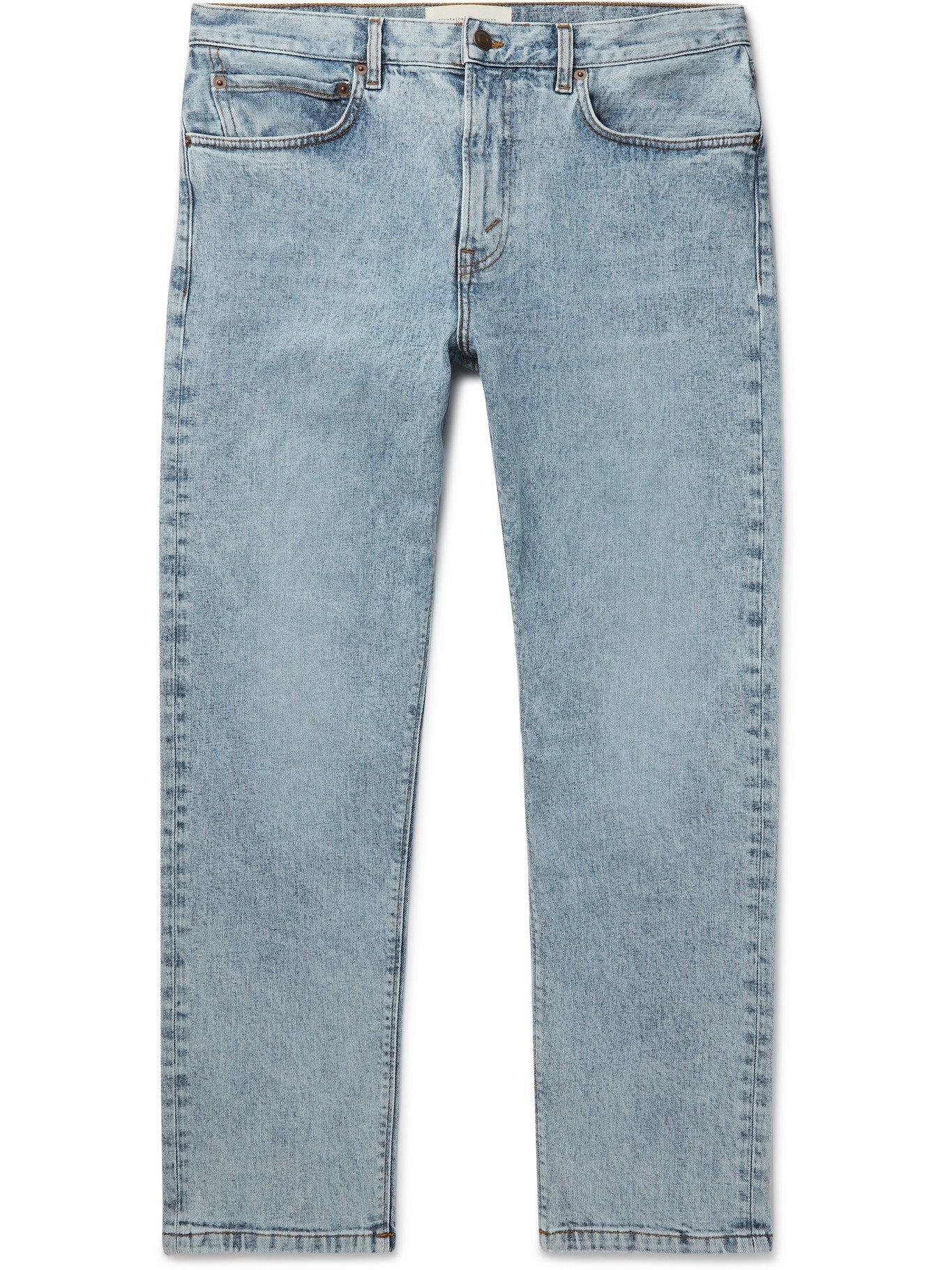 Photo: JEANERICA - Slim-Fit Organic Stretch-Denim Jeans - Blue