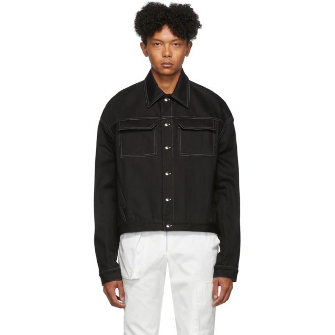 Photo: Spencer Badu Black Denim Jacket