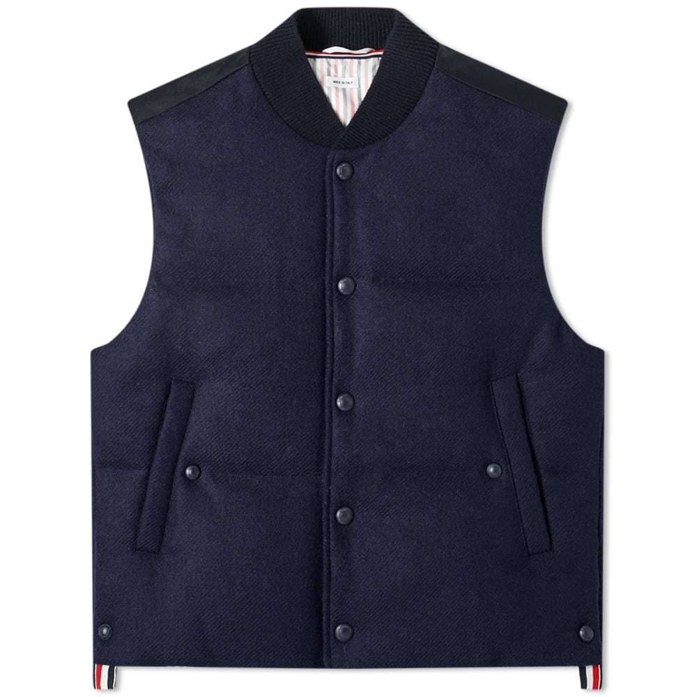 Photo: Thom Browne Wool Downfilled Gilet