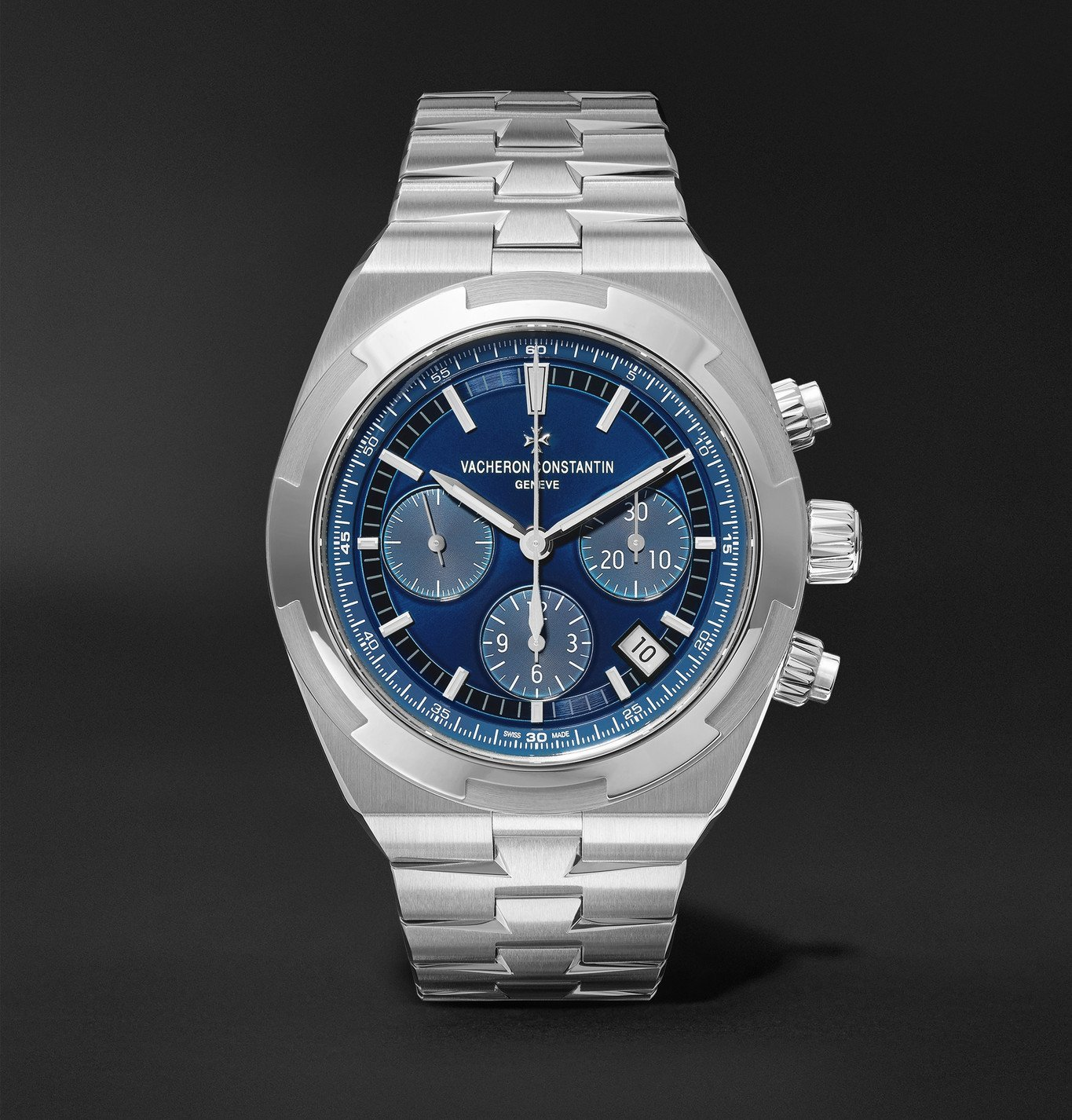 Photo: Vacheron Constantin - Overseas Automatic Chronograph 42.5mm Stainless Steel Watch, Ref. No. 5500V/110A-B148 - Unknown