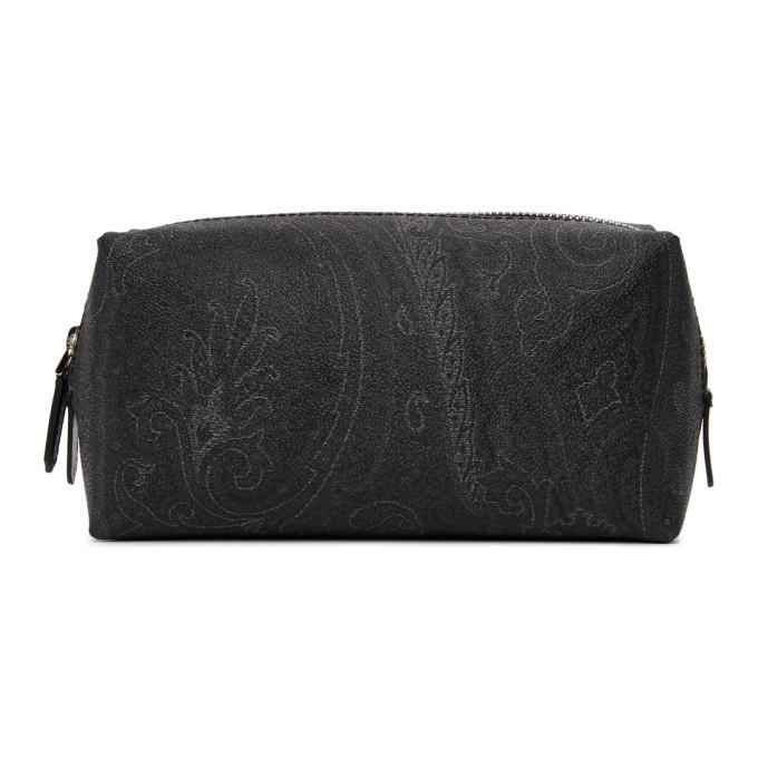 Photo: Etro Black Paisley Beauty Pouch