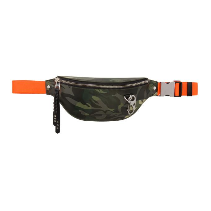 Photo: Alexander McQueen Multicolor Camouflage Harness Belt Bag